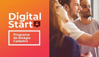 Cadastra Inicia Programa de Estágio Digital Start