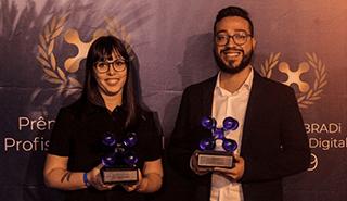 Lideranças da Cadastra são premiadas no 4º Prêmio ABRADi Profissional Digital