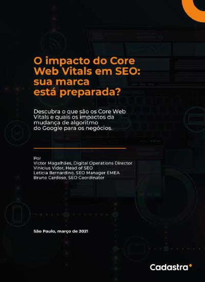 e-book | O impacto do Core Web Vitals em SEO